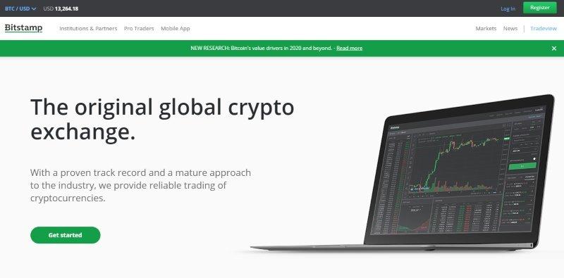 bitstamp registrazione homepage