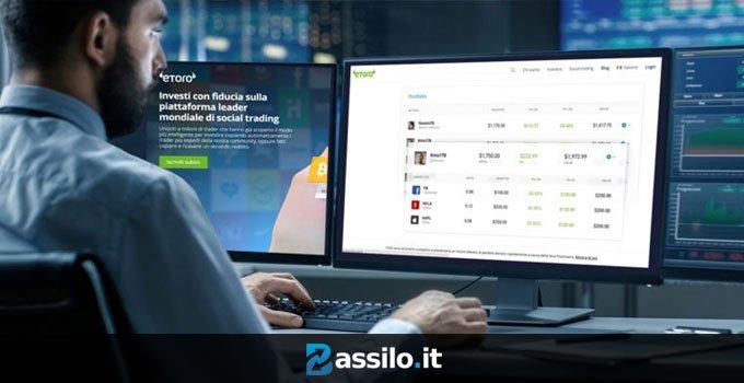 Guida al social trading del broker eToro