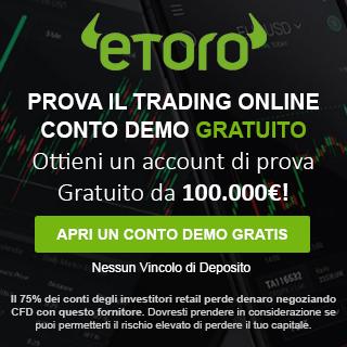 Trading Demo con eToro
