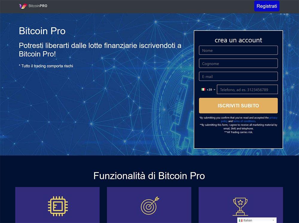 Bitcoin Pro Opinioni e Recensione