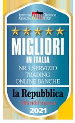 Premio miglior Banca trading online
