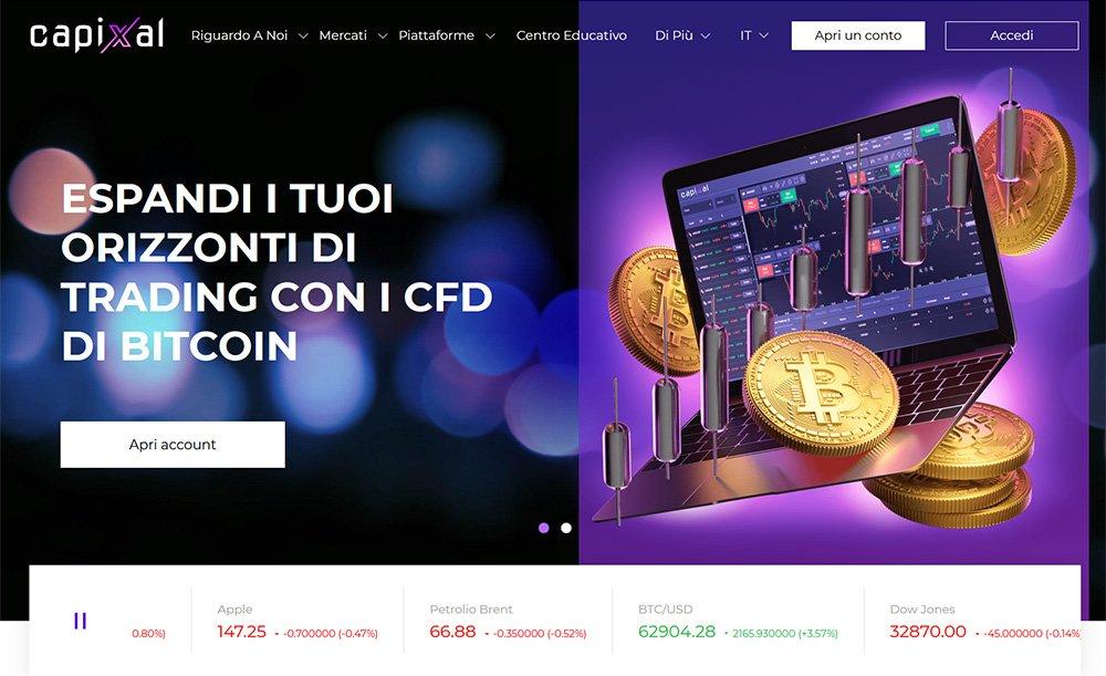 Capixal homepage