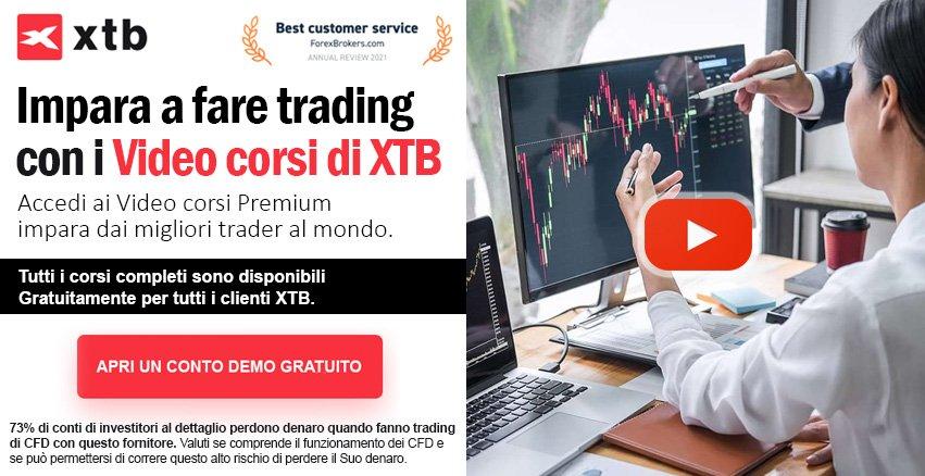 Corsi Trading XTB